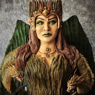 """Queen Evil Aura"""