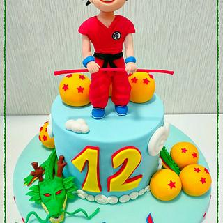 Dragonball cake - Cake by Gele's Cookies