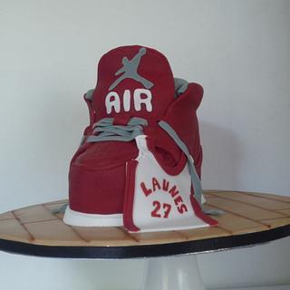 Basketball 3D cake - Cake by AgentSucreeKroxy