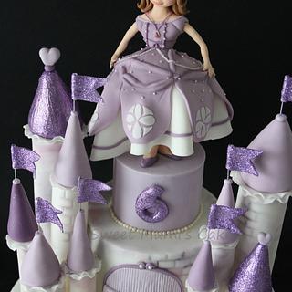 Sophia Castle Cake - Cake by Sweet Mami's Cake