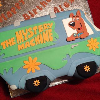 Mystery machine cake - Cake by emma