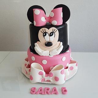 Mini maus - Cake by Azra Cakes
