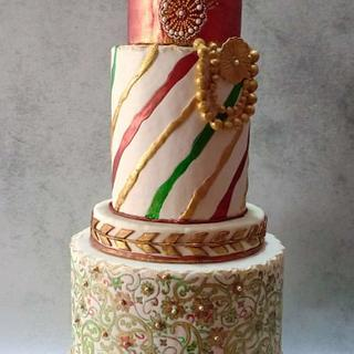 Indian Textiles-Incredible India Cake Collaboration II