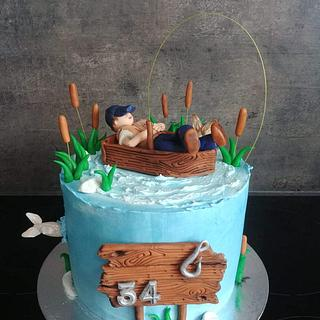 fischerman cake - Cake by Ako cukor sladká