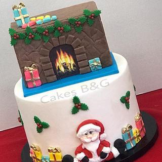Santa Claus Cake!