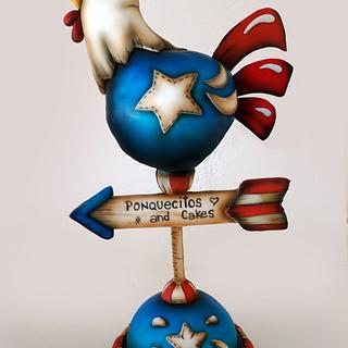 American Country Cake - Cake by Marielly Parra