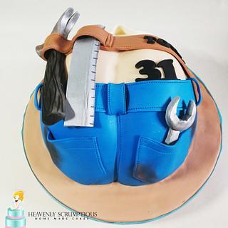 Cake for HANDYMAN :)
