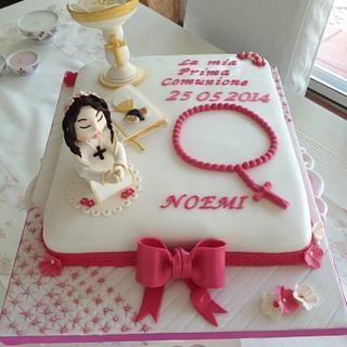First Holy Comunion Cake
