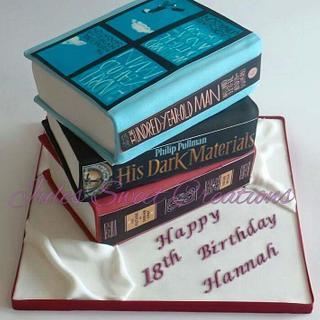 stack of books - Cake by Jules Sweet Creations