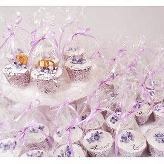 Wedding Cupcakes / Place Cards