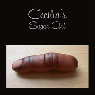 A Few Finger decorations - Cake by Cecilia
