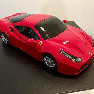 Ferrari 488 cake !  - Cake by Ritzy