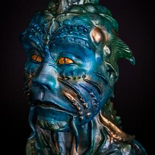 Johnphibius @Under The Sea Sugar Art Collaboration