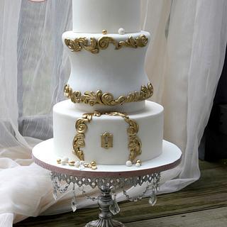 Love, locks and Keys - Cake by Sweet Treasures (Ann)