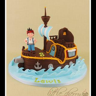 Jake and the Neverland Pirates - Cake by Little Cherry