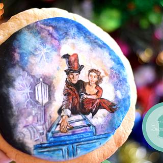 A Merry Whovian Christmas Collaboration- Cookie