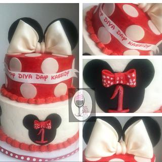 Minnie Mouse Theme! - Cake by TheCakeBar