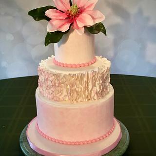 Pink Magnolia cake