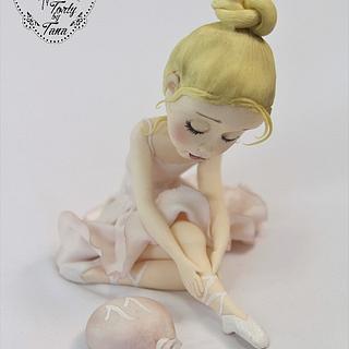 ballerina - Cake by grasie