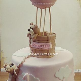 hotairballoon cake