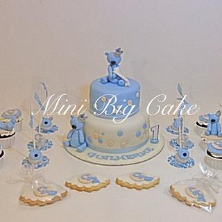 Prince Bear Cake