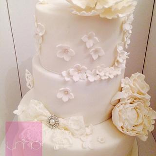 White Wedding Cake!
