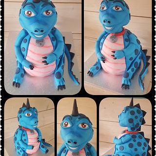 3D dino / dragon  - Cake by Gaabykuh