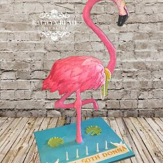 Fun Flamingo 50th 😂