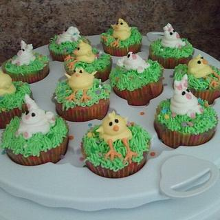 Easter/Spring  Cupcakes