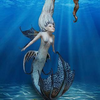 Raissa - Under The Sea Sugar Art Collaboration