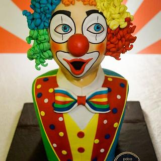 PDCA Caker Buddies Dessert Table Collaboration - Mr. Clown (Part 1 of 4 Circus Theme)
