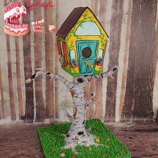 Grandma's Birthday Birdhouse