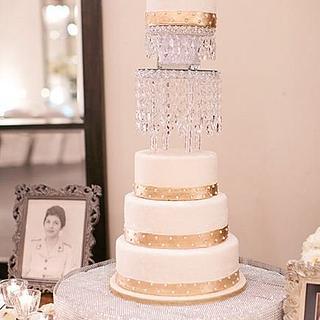 Jaime and Cory's Wedding Cake