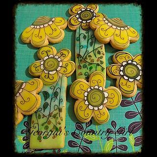 Wonky wacky Flowers