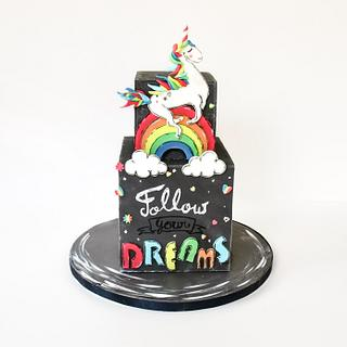 Sugar Art for Autism, Unicorn Cake :)
