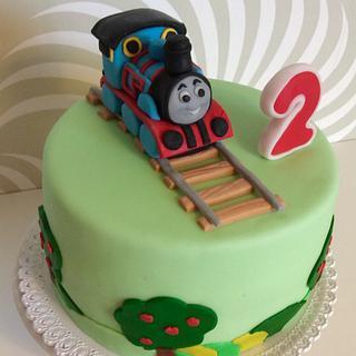 Thomas The Tank Engine - Cake by Dasa