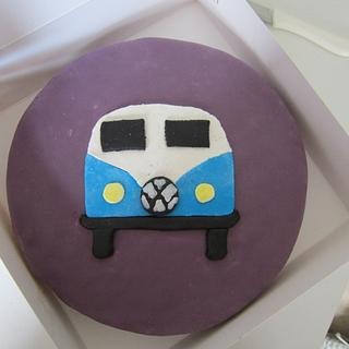 VW bus - Cake by Baked by Lise
