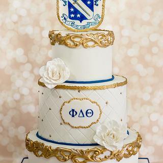 Phi Delta Theta Cake - Cake by Bliss Pastry