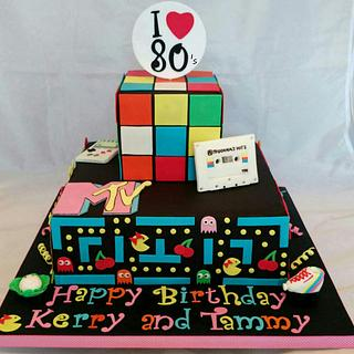 My 80's Cake - Cake by Kate