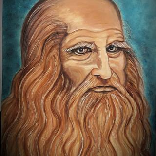 Autoritratto a colori di Leonardo