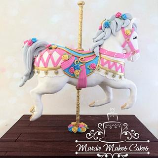 Carousel Pony - Cake by Mardie Makes Cakes