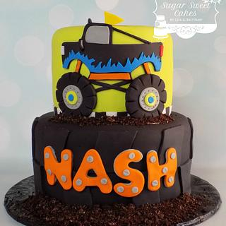 Monster Truck - Cake by Sugar Sweet Cakes