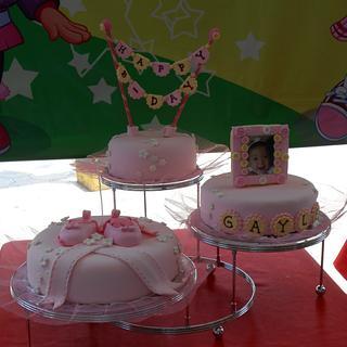 Little Ballerina's cake