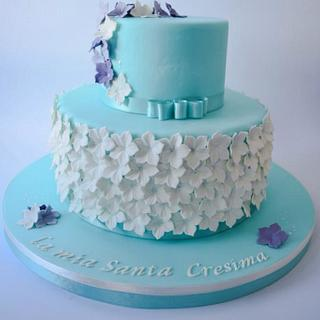 tiffany and lily cake
