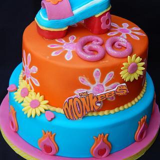Funky 70's cake