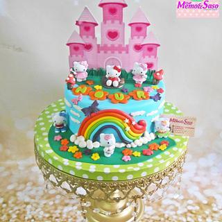 kitty palace cake 🏰