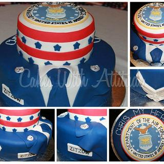 Airforce Cake - Cake by Viviana & Guelcys