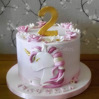 Unicorn cake - Cake by Daisychain's Cakes