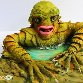 The Creature from The Black Lagoon - Cakenstein's Monsters