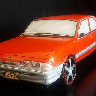 Aussie car VL Commodore - Cake by Paul Delaney of Delaneys cakes